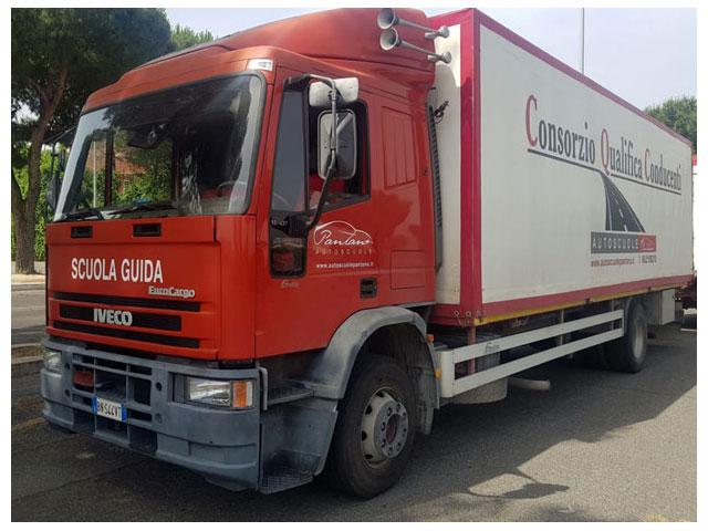 camion per corso scuola guida patente c roma