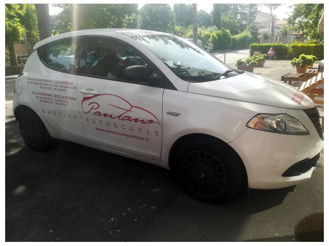 automezzo per scuola guida patente b autoscuole pantano roma